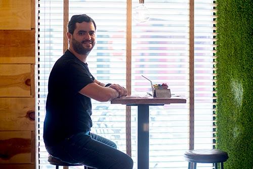 Andoni Goicoechea, fundador de Goiko Grill